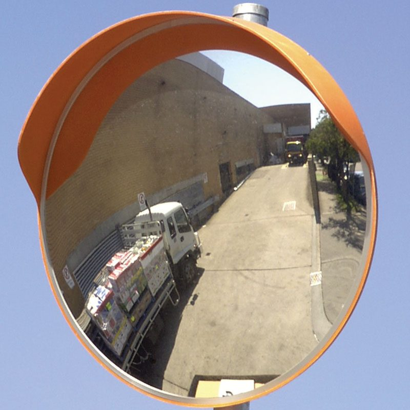 External Convex Mirror