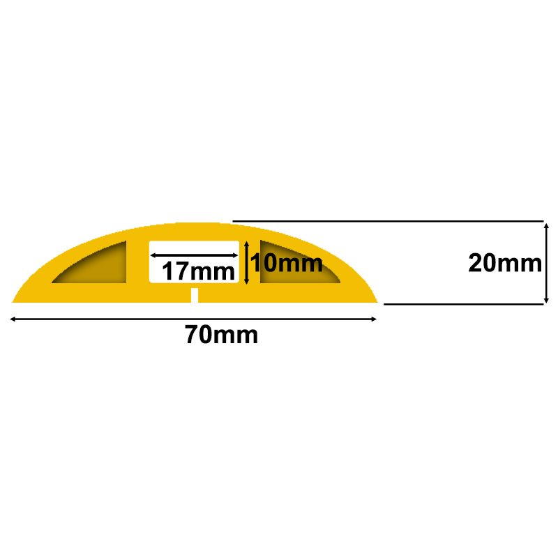 CP2Y Yellow Cable Protector Specifications