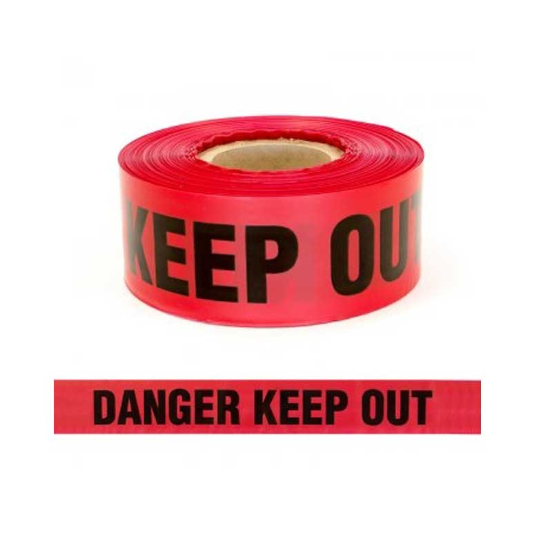 Barrier Tape Danger Keep Out