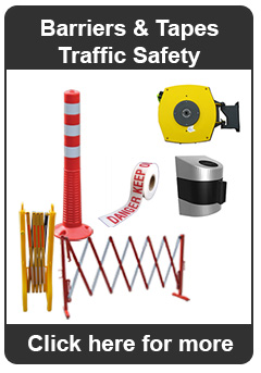 Barriers and Tapes Traffic Safety