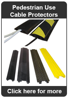 Pedestrian Use Cable Protectors