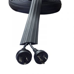 SMALL STANDARD CABLE PROTECTOR 9 METRE ROLL